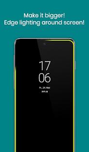 Luz de notificación / LED Note 20, S20 - aodNotify Screenshot