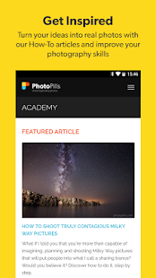 Captura de pantalla de PhotoPills