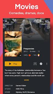 Plex: Transmita películas, programas, TV en vivo y más capturas de pantalla gratis