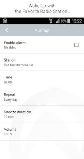 Captura de pantalla de Audials Radio Pro