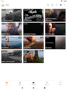 Captura de pantalla de VLC para Android