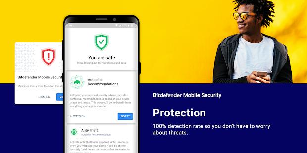 Captura de pantalla de Bitdefender Mobile Security & Antivirus
