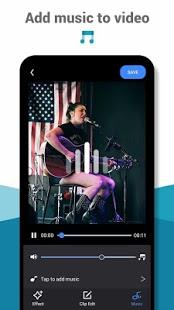 Cool Video Editor: creador de video, efecto de video, captura de pantalla de filtro