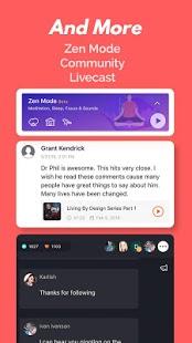 Reproductor de podcast y aplicación de podcast: captura de pantalla de Castbox