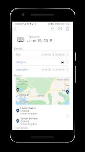Captura de pantalla del velocímetro GPS Pro