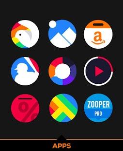 Captura de pantalla del paquete de iconos Simplicon