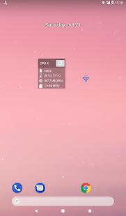 CPU X - Captura de pantalla de información del dispositivo y el sistema