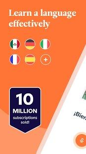 Babbel - Aprende idiomas - Español, francés y más Captura de pantalla