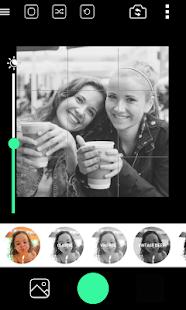BlackCam - Captura de pantalla de la cámara en blanco y negro