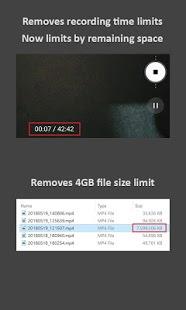 Camera Mod S8 - Bitrate y configuración [ROOT] Captura de pantalla