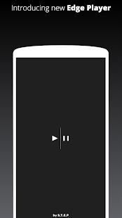 Captura de pantalla del reproductor de música Galaxy S10 / S20 / Note 20 Edge