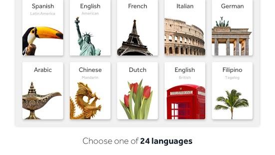 Rosetta Stone: Captura de pantalla de Learn Languages
