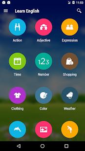 Captura de pantalla gratuita de Learn English