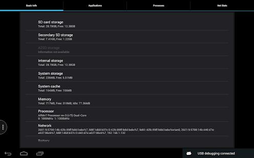 Captura de pantalla de Quick System Info PRO