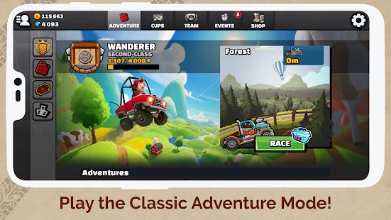 Captura de pantalla de Hill Climb Racing 2
