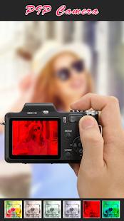 Cámara PIP - Captura de pantalla del editor de fotos