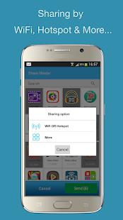 Compartir Master Apps Transfer APK Captura de pantalla
