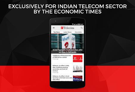ET Telecom de Economic Times Captura de pantalla