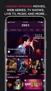 ZEE5: HiPi, noticias, películas, programas de televisión, captura de pantalla de la serie web