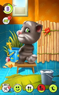 Captura de pantalla de My Talking Tom
