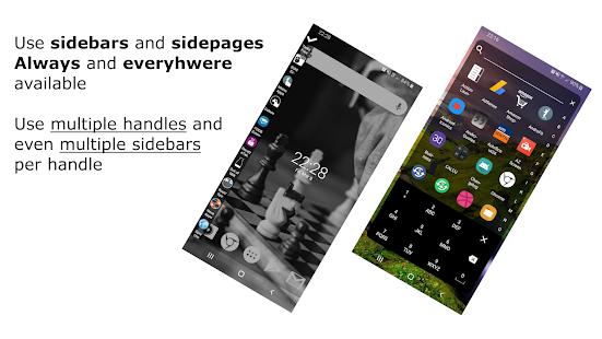 Everywhere Launcher: captura de pantalla de Sidebar Edge Launcher