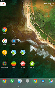 N + Launcher Pro - Nougat 7.0 / Oreo 8.0 / Pie 9.0 Captura de pantalla