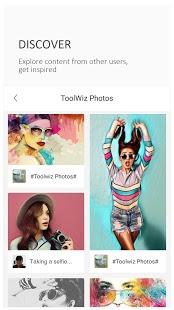 Toolwiz Photos - Captura de pantalla del editor profesional
