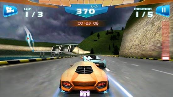 Captura de pantalla de Fast Racing 3D