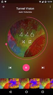 Captura de pantalla de Timber Music Player
