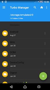 Captura de pantalla de Turbo Manager ™ 2020 Pro