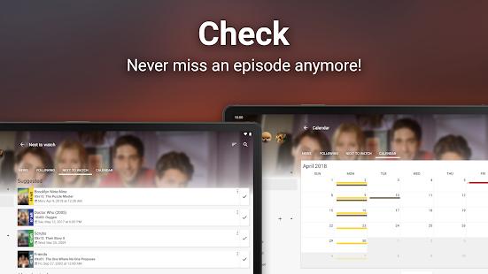 SeriesFad - Captura de pantalla de su administrador de programas