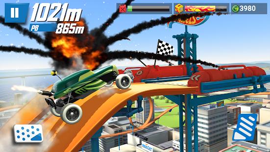 Hot Wheels: Race Off Captura de pantalla