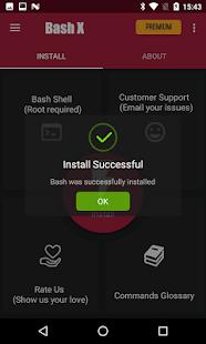 Bash Shell Pro [Root] - Captura de pantalla con 50% de descuento