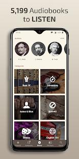 Captura de pantalla de libros gratuitos: novelas, libros de ficción y audiolibros
