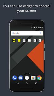 Smart Rotate: captura de pantalla del control de rotación de la pantalla