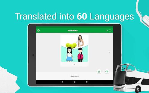 Habla inglés americano - captura de pantalla de 5000 frases y oraciones