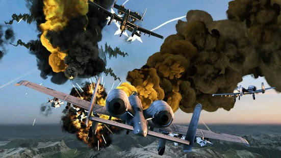 Captura de pantalla de Call of Infinite Air Warfare