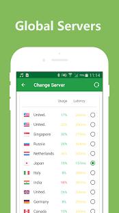 Hotspot VPN: captura de pantalla de proxy ilimitado de VPN súper gratuito