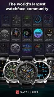 Captura de pantalla de Watch Face -WatchMaker Premium para Android Wear OS