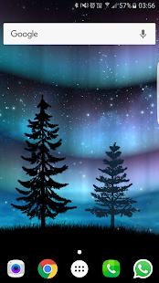 Captura de pantalla de Aurora Pro Live Wallpaper