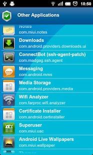 Captura de pantalla de Anti Spy Mobile PRO