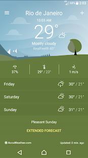 Captura de pantalla del tiempo