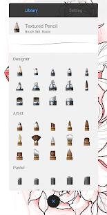 SketchBook: dibujar y pintar captura de pantalla
