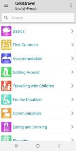 Berlitz Talk & Travel Phrasebooks Captura de pantalla