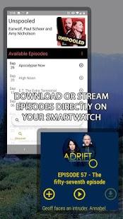 NavCasts - Captura de pantalla de Wear OS Podcasts sin conexión Nav Casts