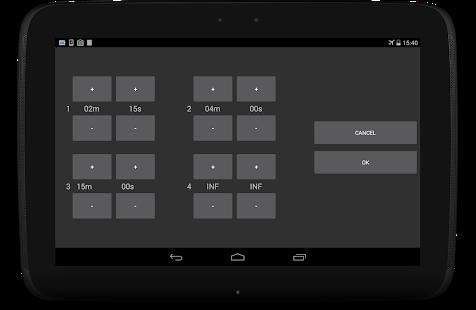 Captura de pantalla de Any Screen Timeout Plus