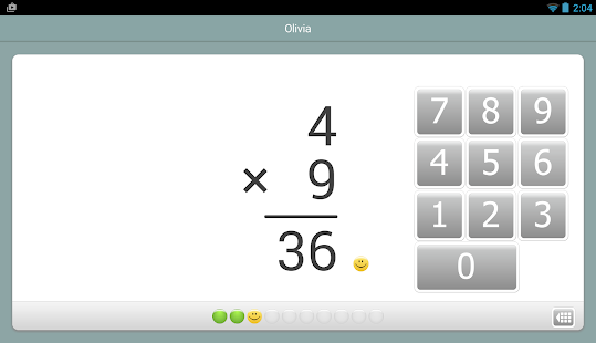 Captura de pantalla de XtraMath