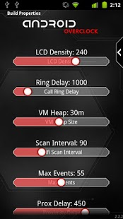 Overclock para Android Captura de pantalla