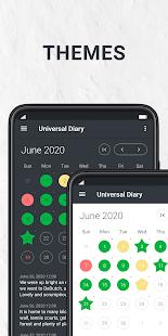 Diario, diario, notas - Captura de pantalla de Universum