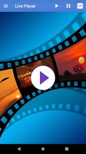 Captura de pantalla de Live Player Pro